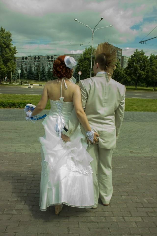 Смешные и нелепые свадебные фото