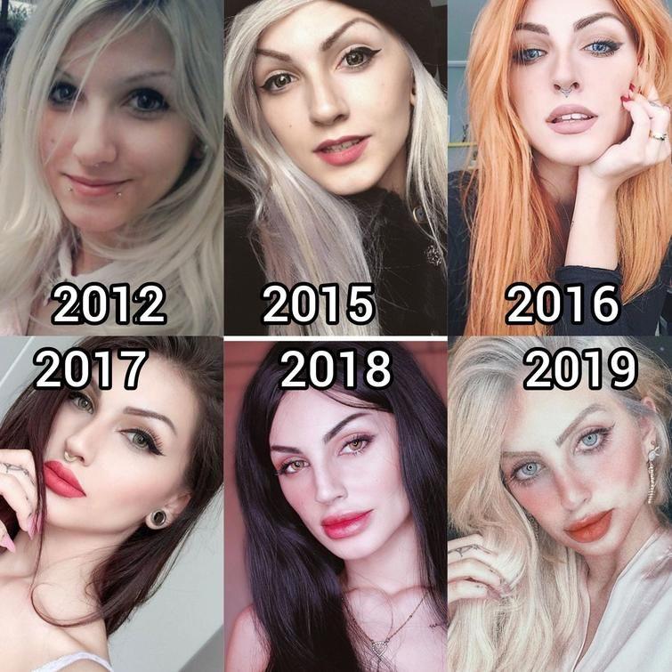 30 фриков которые перестарались с внешностью