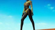 Модель Ньяким Гатвех по прозвищу «Королева тьмы»